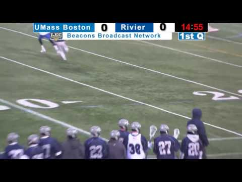 UMass Boston Lacrosse vs Rivier University Webcast (3/22/17)