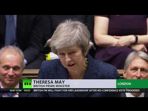 UK PM May facing 'no confidence' vote over Brexit deal