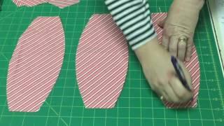 12 Almost Heaven Woodcraft Fun Time Fabric Balloon Ball Template Set