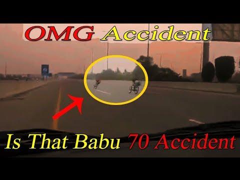 Babu 70 K Accident Jesa Accident Live Video Race Alter Bike In Pakistan