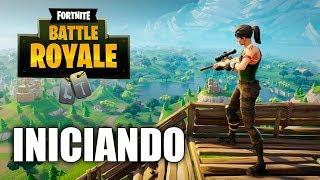 Fortnite: Battle Royale, Jogando Pela Primeira Vez [ Xbox One - Gameplay PT-BR ]