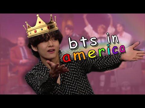 BTS in America once again 2020