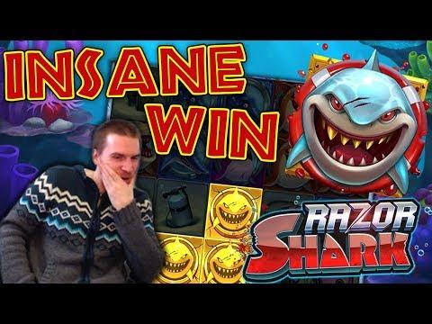 INSANE WIN On Razor Shark Slot - £3 Bet