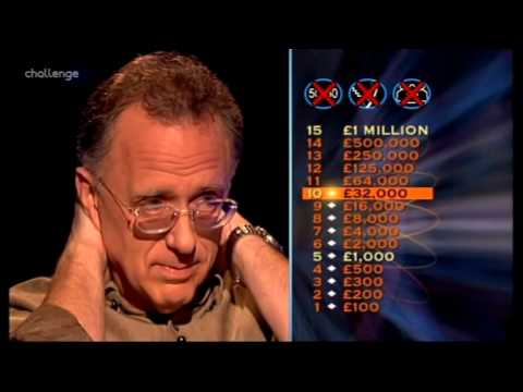 Series 15 Who Wants to be a Millionaire 24th January 2004