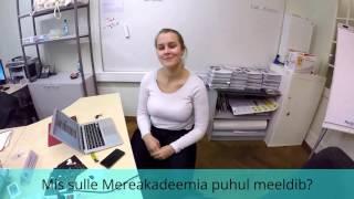 10 küsimust TTÜ Eesti Mereakadeemia üliõpilasele Mari Kasemetsale