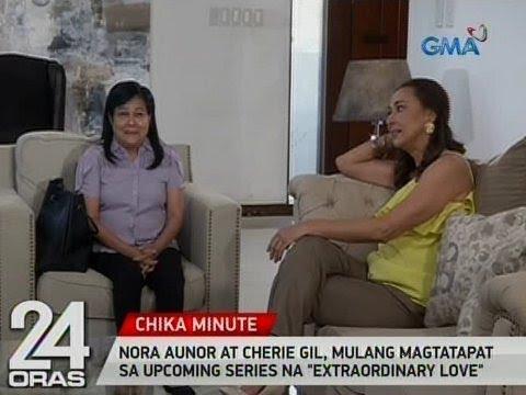 24 Oras: Nora Aunor at Cherie Gil, mulang magtatapat sa upcoming series na 'Extraordinary Love'