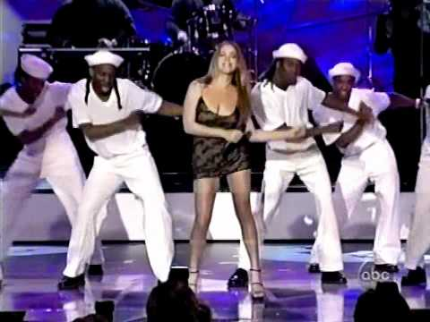 (HD) Mariah Carey - Honey (Remix) Live + Best Selling Artist Of The 90's Award (WMA's)