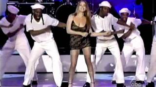 (HD) Mariah Carey - Honey (Remix) live + Best Selling Artist of the 90