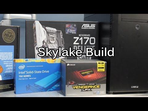 Wendell's Skylake PC Build - i7 6700k
