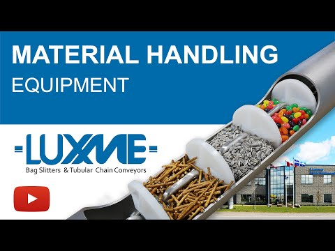 Material Handling And Bag Handling Solutions By Luxme - Conveying Systems And Bulk Solids Handling