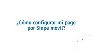 Cómo configurar Sinpe Móvil en Coopenae Virtual?