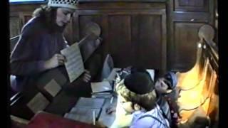 1989/5749 Школа в Московской Хоральной синагоге.