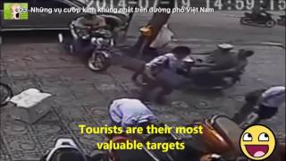 Things you MUST be aware before travelling to Vietnam: #2 Robberies in Vietnam