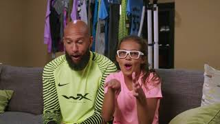 "Behind The Scenes with Tim Howard & daughter Ali fo Youth Forceâ""¢"