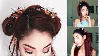 BUTTERFLY CLIPS HAIRSTYLES: EARLY 2000s/Late 90s