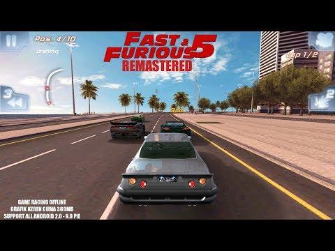 Game Racing Keren Buatan Gameloft - Fast & Furious 5 Remastered Android