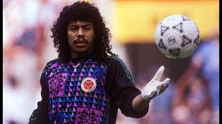 Un Joven René HIGUITA contra la Argentina de MARADONA (1987)