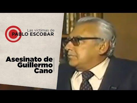 Las víctimas de Pablo Escobar parte 3  El asesinato de Guillermo Cano Isaza, vocero de la verdad