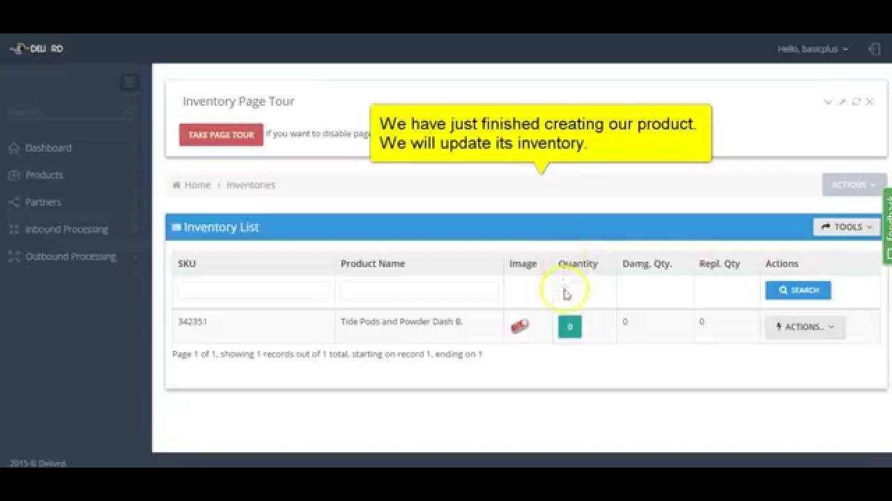 delivrd basic inventory management youtube