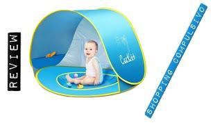 Tenda da spiaggia ⛺ per bambini con piscina. Protezione Solare UV 50+,