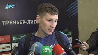 Далер Кузяев на «Зенит-ТВ» — о забитом мяче и встрече с президентом