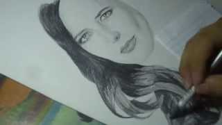 Drawing Eva Green