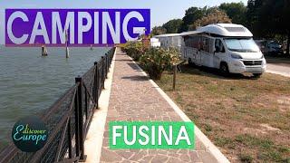 Camping Fusina . Venice