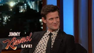 Matt Smith on Prince Harry, Prince Philip & The Crown