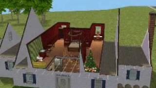 Sims 2 Starter Home Interior & Design part 2