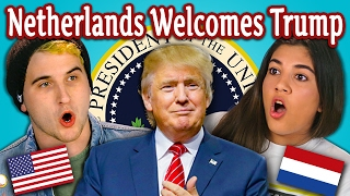 Repeat youtube video TEENS REACT TO THE NETHERLANDS WELCOMES TRUMP