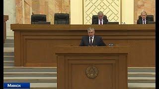 Белорусский парламент приступил к рассмотрению закона о СМИ. Панорама