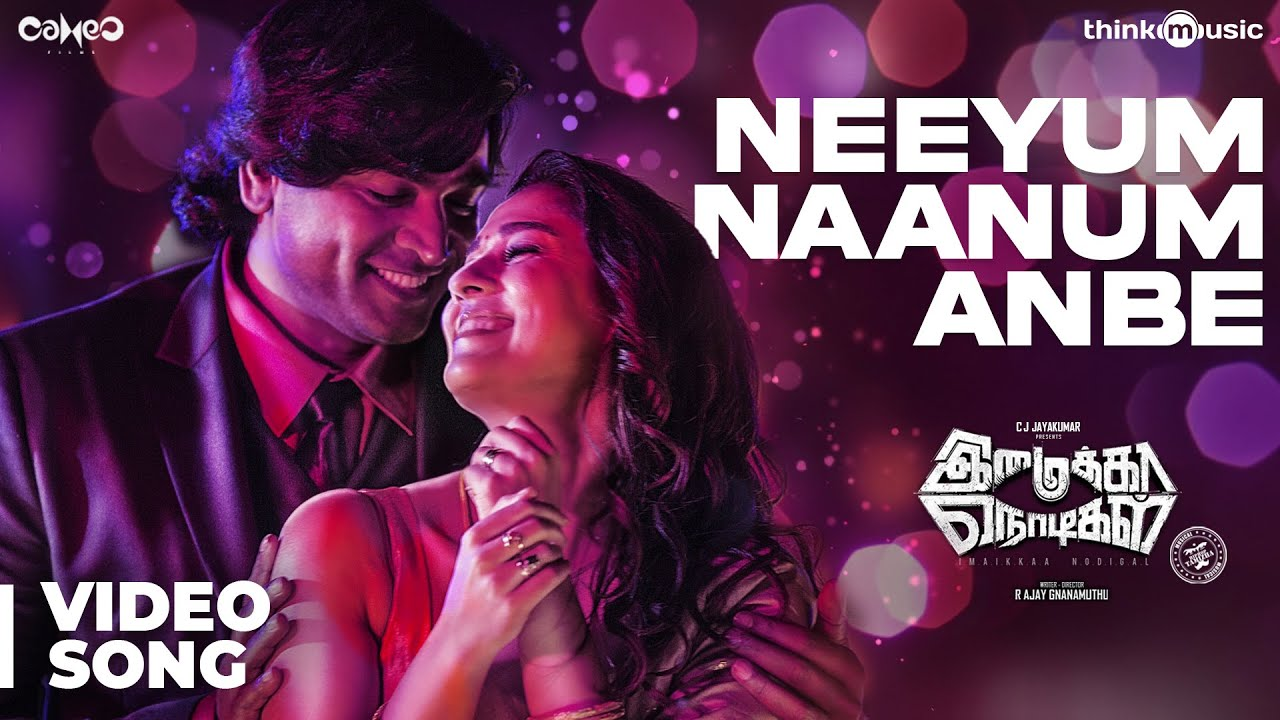 [Mp4] Neeyum Naanum Anbe Video Song Download Tamil Imaikkaa Nodigal