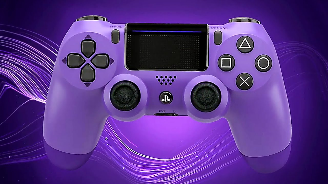 DUALSHOCK 4 CONTROLLER Electric Purple Trailer (2019) PS4 + vídeo