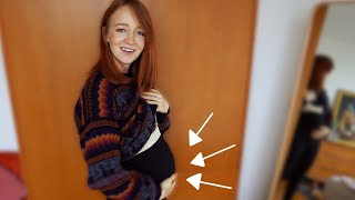So sieht eine Schwangere im 5. Monat aus