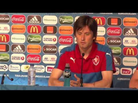 Tomáš Rosický před zápasem se Španělskem