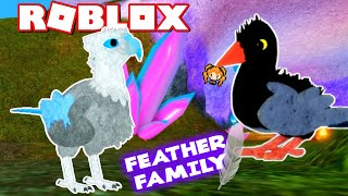 ROBLOX FEATHER FAMILY RAVEN vs PHOENIX BABY Birds! I Got Invited into the PHOENIX CLUB!