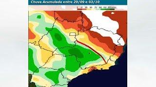 Chuva vai ser volumosa em SP e MG nos próximos dias