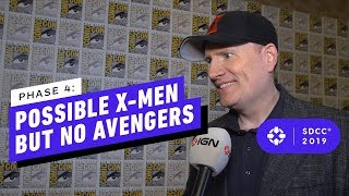 Kevin Feige on X-Men Plans, No Avengers Movie in Phase 4 - Comic Con 2019
