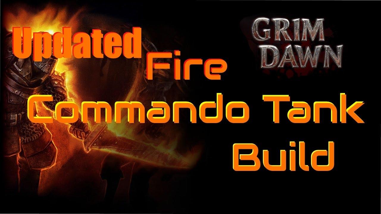 Grim Dawn Commando Build - Fire Damage Tank - Part 2