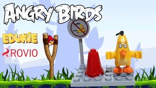 Lego The Angry Birds Movie 2 New Minifigure toys Chuck by Edukie +Rovio Build and Review