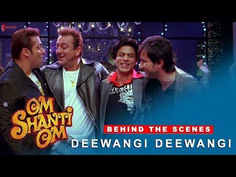 Om Shanti Om | Behind The Scenes | Deewangi Deewangi | Shah Rukh Khan & Various Celebrities