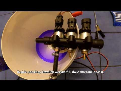 Czyszczenie wtryskiwaczy LPG DIY / DIY LPG injectors cleaning