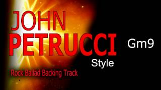 Rock Ballad John Petrucci Style Guitar Backing Track 60 bpm Highest Quality