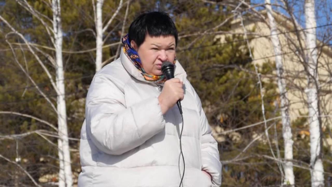 Жители Ленска выступали в поддержку мэра Сергея Высоких