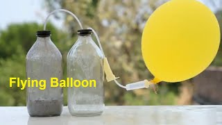 Acid + Aluminium Foil = Flying Balloon