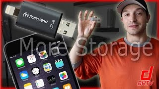 Transcend JetDrive Go Review - External Storage For iPhone, iPad, iPod Touch.