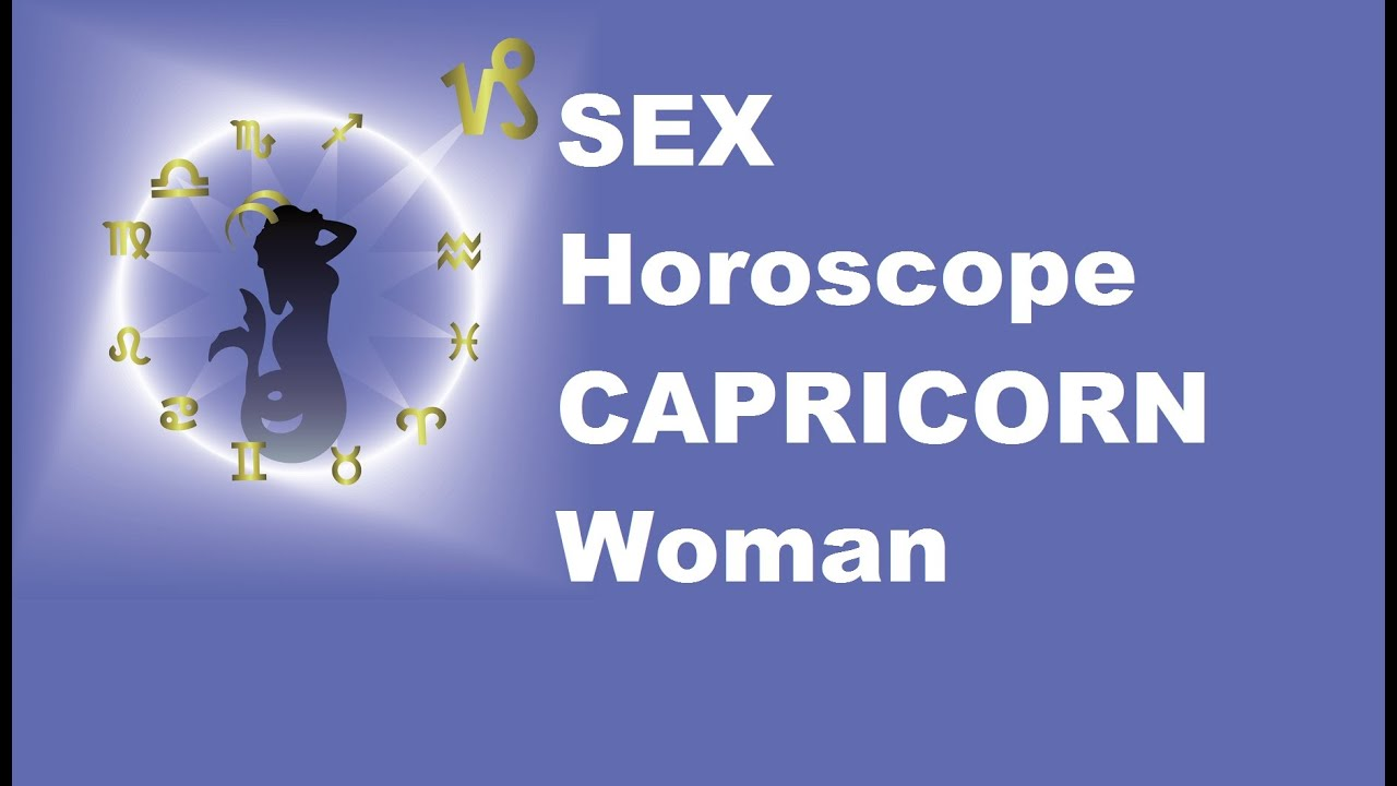 Capricorn Sex Traits 24