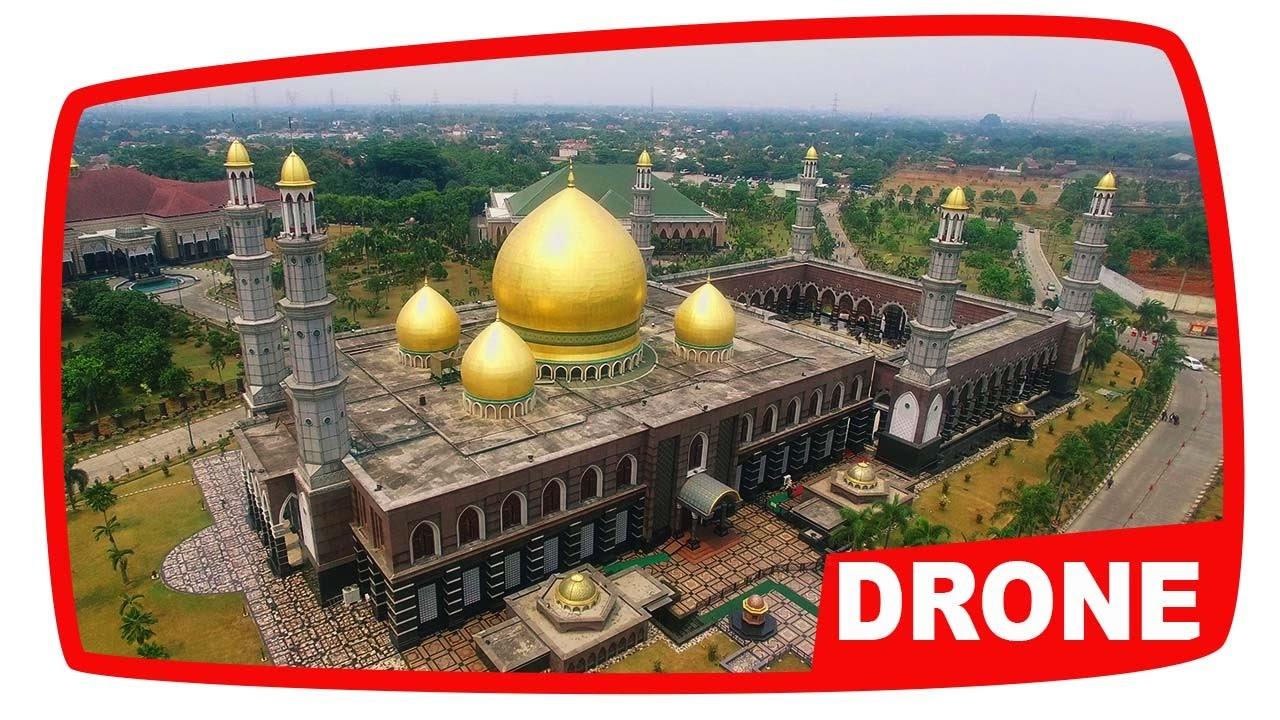 Pesona Masjid Kubah Emas Depok Aerial Video YouTube