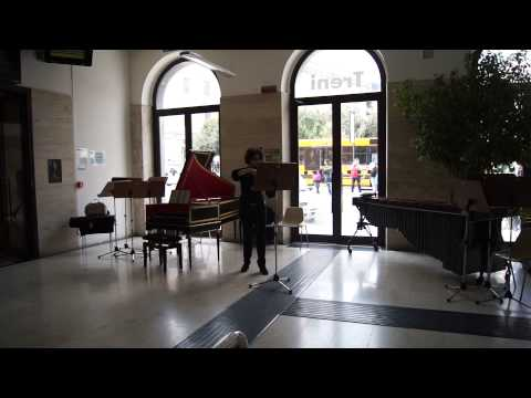 Bach in the subways Campobasso - viola
