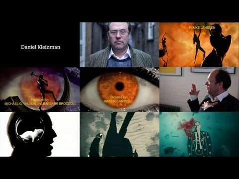 Designing Main Titles for Bond movies - Daniel Kleinman